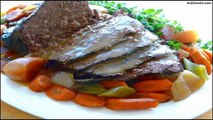 Recipe Yankee Pot Roast of Beef With Vegetables (In the Crock-Pot)