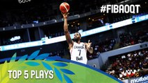 Top 5 Plays - Final Day - 2016 FIBA Olympic Qualifying Tournament - Philippines