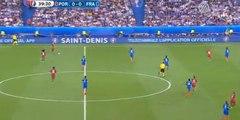 1st half highlights - Portugal 0-0 France - 10.07.2016