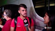 Após marcar dois gols na vitória sobre o Atlético-MG, Felipe Vizeu agradece a Paolo Guerrero