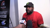 Rampage Jackson Bellator Media Scrum