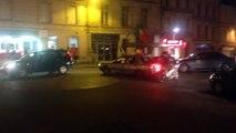 concert de Klaxons dans le centre d'Angoulême