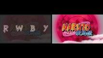 RWBY - Blood Circulator (Naruto Shippuden Opening 19) - Side By Side Version