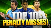Top 10 Missed Penalties-top 10 worst penalties in football history-top football videos