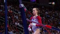 Olympic Gymnastics Trials | Madison Kocian Nails Uneven Bars Routine