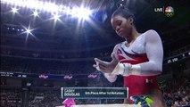 Olympic Gymnastics Trials | Gabby Douglas Scores A 15.250 On Uneven Bars
