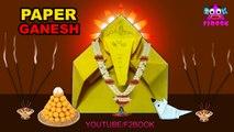 lord Ganesha And Musuka Paper Folding || Easy Origami DIY Crafts Videos || God Vinayaka Making Videos 159
