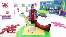 Art Attack - Rampe de Skate - Disney Junior - VF