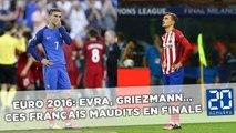 Euro 2016: Evra, Griezmann... Ces Français maudits en finale