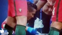 Cristiano Ronaldo Portekiz Fransa maçında sakatlandı