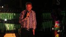 Colin Paul sings 'His Latest Flame' Elvis Week 2015