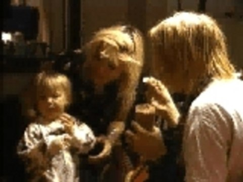 Nirvana - Kurt Cobain and Frances Bean Cobain