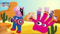 Peppa Pig Captain Ironman #FingerFamilySong #NurseryRhymes