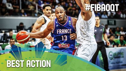 France Highlights! - 2016 FIBA Olympic Qualifying Tournament