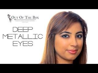 Fall Look : Deep Metallic Eyes | Makeup Tutorial
