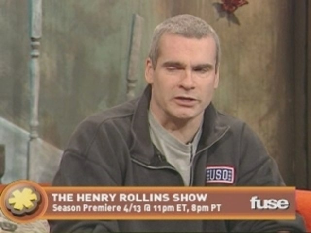 Henry Rollins interview on fuse's The Sauce