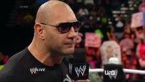 WWE Batista Promo Botch 3/17/14: Royal Rumble