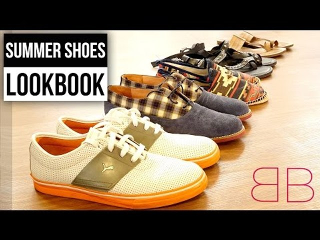 Summer Shoes Lookbook - Shoes Every Guy Should Own