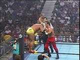 Chris Benoit and Arn Anderson vs Giant and Kevin Sullivan, WCW Bash at the Beach 1996