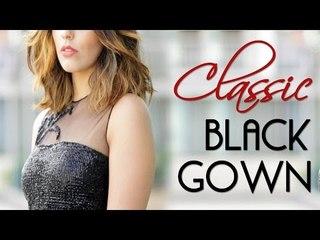 Wardrobe Essentials: Classic Black Gown