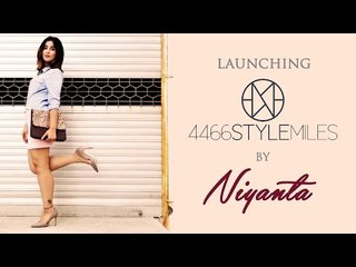 Launching of 4466STYLEMILES by Niyanta