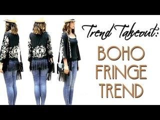 Trend Takeout: Boho Fringe Trend