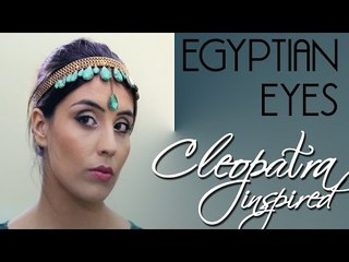 Egyptian Eye Makeup Tutorial (Cleopatra Inspired)