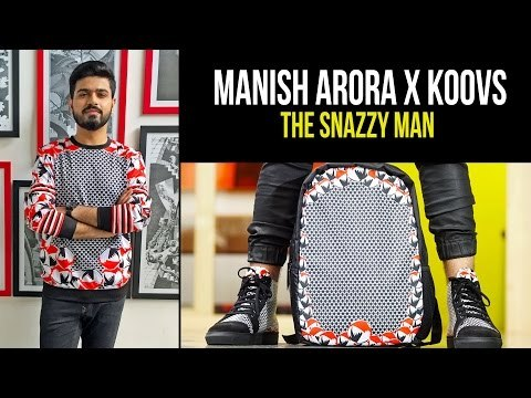 Indian by Manish Arora X Koovs | The Snazzy Man