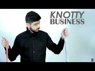 Knotty Business- How to tie a tie (Cheat Knot)