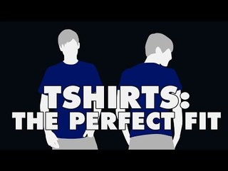 How To Get The Perfect Fit For Tshirts | The Snazzy Man Guide
