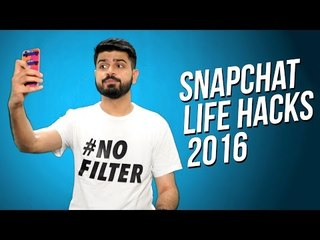 Snapchat Life Hacks! Secret Features + Tips & Tricks 2016
