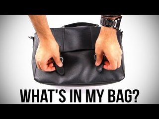 What's In My Bag? | The Snazzy Man