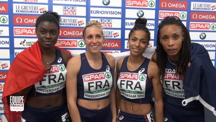 Championnats d'Europe d'Amsterdam : Relais 4x400 m : « De bon augure pour Rio »