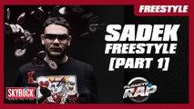 Freestyle de Sadek en live #PlanèteRap [Part. 1]