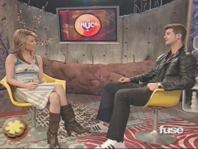 Robin Thicke interview on The Sauce