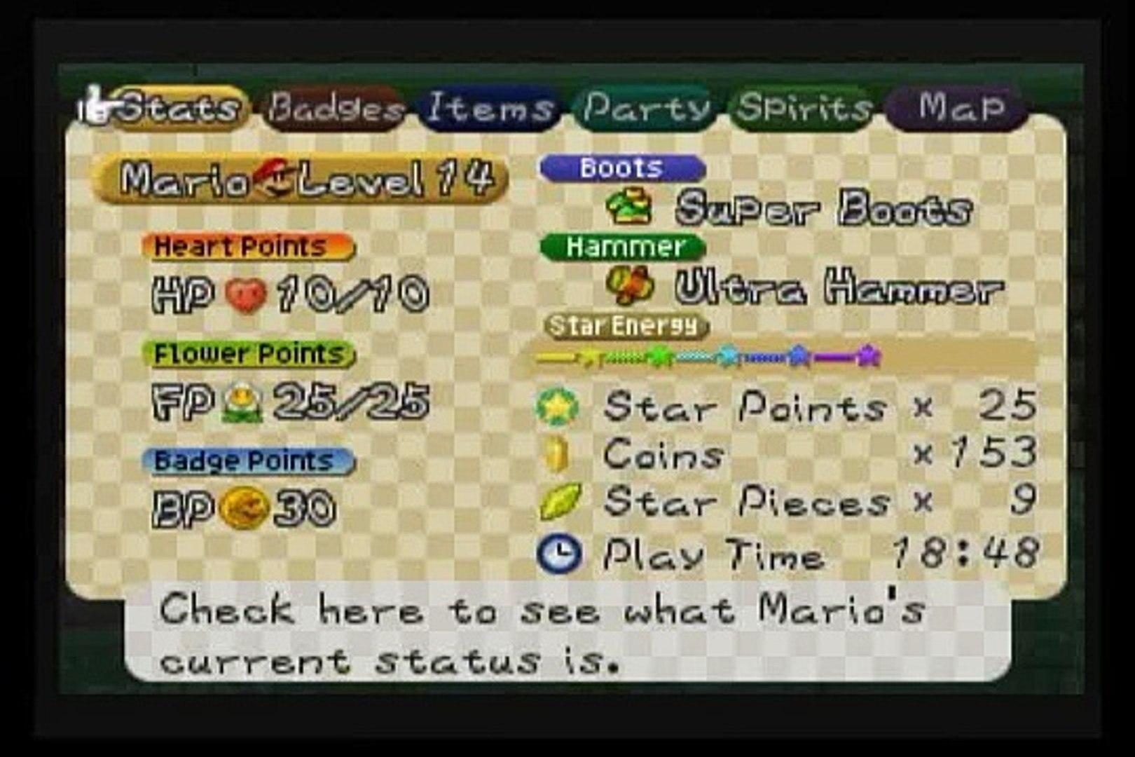 Paper Mario 64 - Boss #16 - Electro Blooper (10 HP)