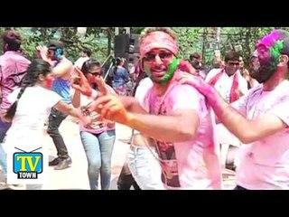 Holi 2016 - Celebrities Having Fun At Rasleela Holi Bash