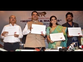 Book Launch Of Coffee Book Movers & Makers - Shahrukh Khan, Devendra Fadnavis, Shaina | CinePakoda