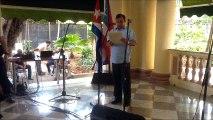 Fernando González en 50 aniversario de Misión de Puerto Rico en Cuba