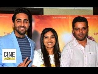 Dum Laga Ke Haisha - Press Meet | Ayushmann Khurrana, Bhumi Pednekar & Sharat Katariya | CinePakoda