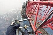 Shanghai Tower (650 meters)-Shanghai Tower climbers-Best climbers-Secret climbing of shanghai tower