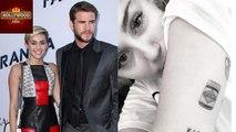 Miley Cyrus Gets Unusual TATTOO Dedicated to Liam Hemsworth   Hollywood Asia