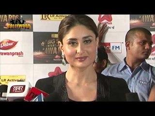 Dabangg - 2 Actress Kareena at The Big Star Entertainment Awards 2012