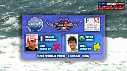 1/2 Finale Stand Up - Romain Stampers VS Bruno Jacob - IFWA World Tour JET JUMP EXTREME 2nd Stop - LACANAU 2016