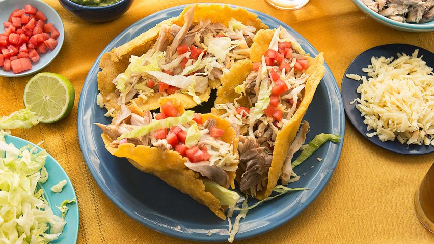 How to Make Puffy Taco Shells