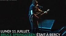 Bruce Springsteen fait sauter les plombs de Bercy en plein concert (vidéo)