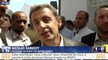 Sarkozy se compare à Giroud. Zap actu du 12/07/2016 par lezapping