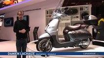 Vidéo en direct du salon de la moto : Peugeot Django