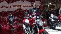 Vidéo en direct du salon de la moto: Ducati Monster 1200