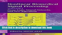 Download Nonlinear Biomedical Signal Processing, Fuzzy Logic, Neural Networks, and New Algorithms